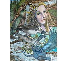 River Spirit Photographic Print