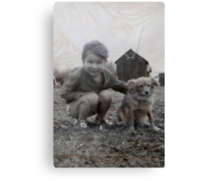 Sis and Muffy Canvas Print