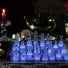 Chess By Candlelight with Tea by FrankSchmidt
