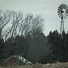 Windmill on a Hill by Deb Fedeler