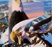 screaming eagles by Graeme  Stevenson