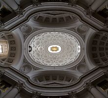 St Charles at the Four Fountains, Rome - ceiling by Eric Peterson