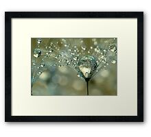 Gold Sparkles Framed Print