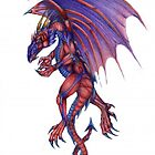 Dels Dragon - Red Variant by Draconis130