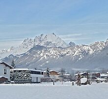 Austrian winter view. by sandyprints