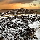Snow Over Calver Hill by Mat Robinson