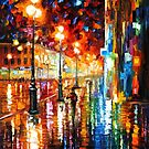 THE TEMPO OF THE RAIN - LEONID AFREMOV by Leonid  Afremov