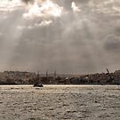 Bosphorus lightshow (3) by Marjolein Katsma