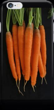 Fresh Carrots by Heidi Hermes