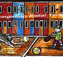 Bounjiorno Italia Tennis by Monica Engeler