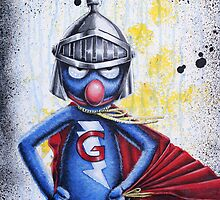 SUPER GROVER by blacktearink