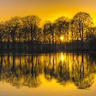 Paul's Pond, Golden Acre Park, Leeds by Ian Wray