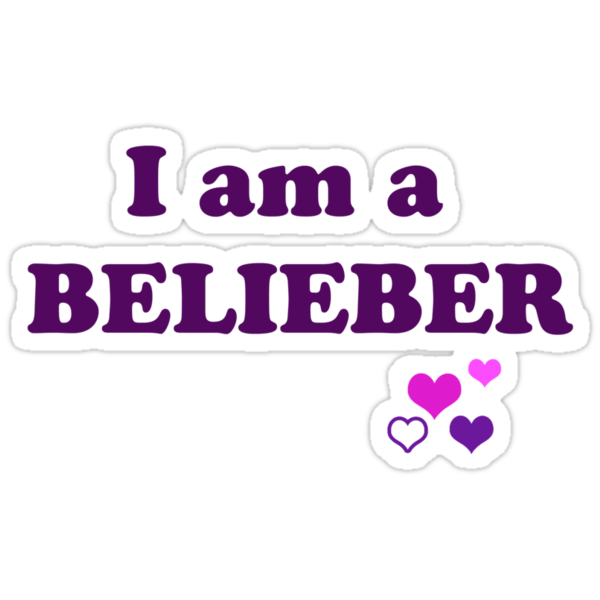 I am a BELIEBER by Duckmuncher