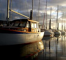 Old Wooden Motor Sailer 2,Pwllheli by greatoutdoors