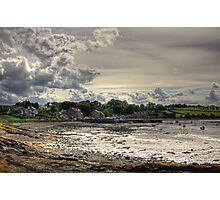 Clouds over Blackness Photographic Print