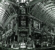 Leadenhall Market Charcoal Effect Image by DavidHornchurch