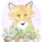 Fox by nearsightedowl
