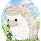 Hedgehog by nearsightedowl