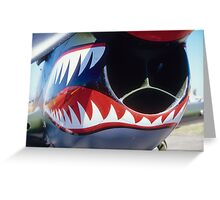 P-40 Kittyhawk Greeting Card