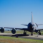 Boeing KC-135 Stratotanker by Anthony Woolley