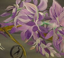 My Wisteria . . . A Fanciful Interpretation by Karen L Ramsey