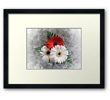 Bouquet. Framed Print