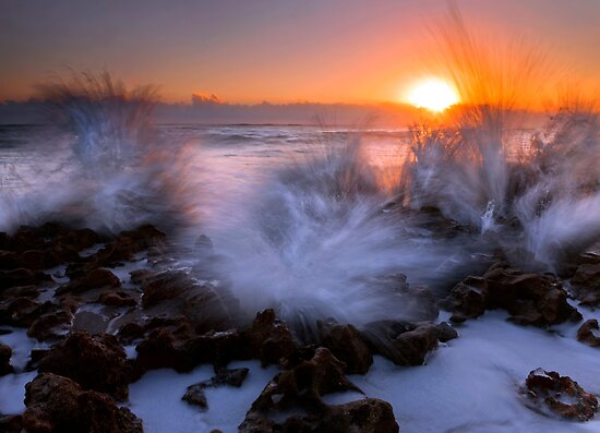 Sunrise Explosion by DawsonImages