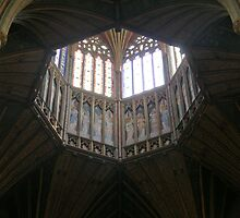 The lantern Ely Cathedral by tunna