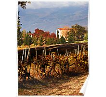 Autumn in Tuscany Poster
