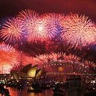 Sydney Fireworks by Fayth