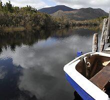 Blue boat, Melaleuca by clickedbynic