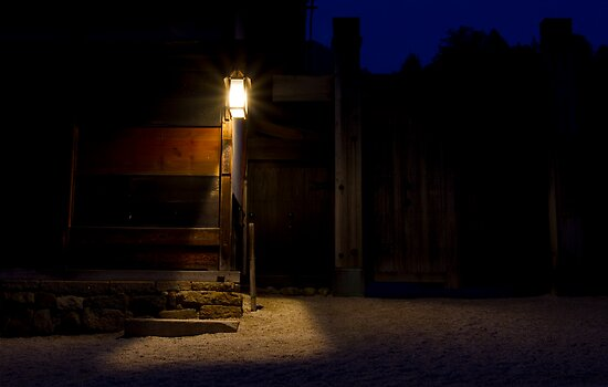 The lonely road to Edo by Sam Ryan