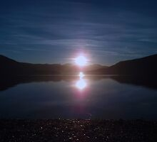Ullapool reflections of Sunset by mfsutherland