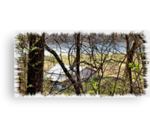 A Recent Sneak Peek of the Old Farm and the Tale Behind It Canvas Print