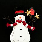 Snowman by Anne Gilbert