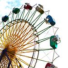 County Ferris Wheel by idenationarts