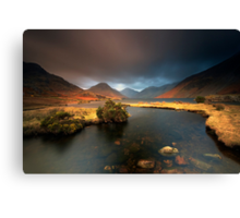 Passing Squall Canvas Print