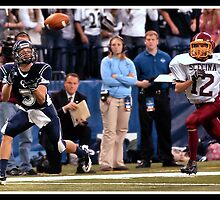 Class 1A Lafayette Central Catholic vs Indianapolis Scecina 5 by Oscar Salinas