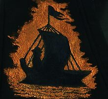 Sailing Boat Silhouette Design by Matthew Rogers