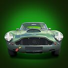 Aston Martin DB4 by Nigel Bangert