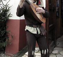 Rob, the Minstrel by Hans Bax