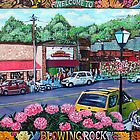 &#x27;Downtown Blowing Rock&#x27; by Jerry Kirk