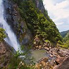 Ellenborough Falls Lower View by Chris  Randall