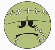 Smiley Frankenstein by monsterfink