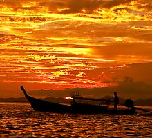 Longboat Cruise by Mike Stone