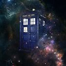 TARDIS in Space by flyingpantaloon
