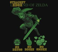 (straight) LedgeND OF ZELDA by Max Heron