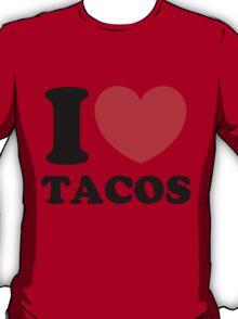"""I Heart Tacos"" T-Shirt"