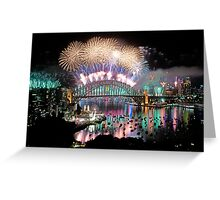 Simply The Best ! - Sydney NYE Fireworks  #4 Greeting Card