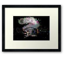 Simply The Best ! - Sydney NYE Fireworks  #7 Framed Print